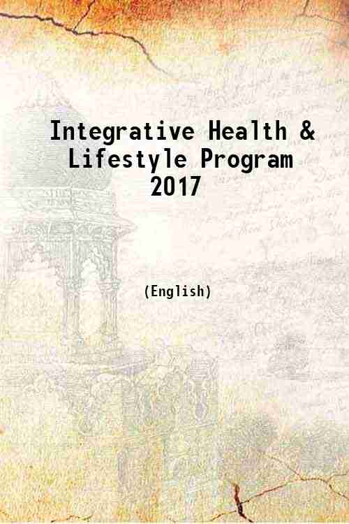 Integrative Health & Lifestyle Program 2017