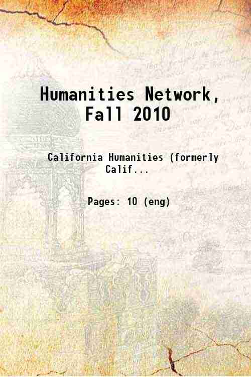 Humanities Network, Fall 2010