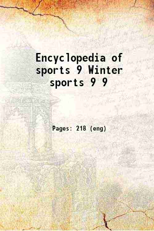 Encyclopedia of sports 9 Winter sports 9 9