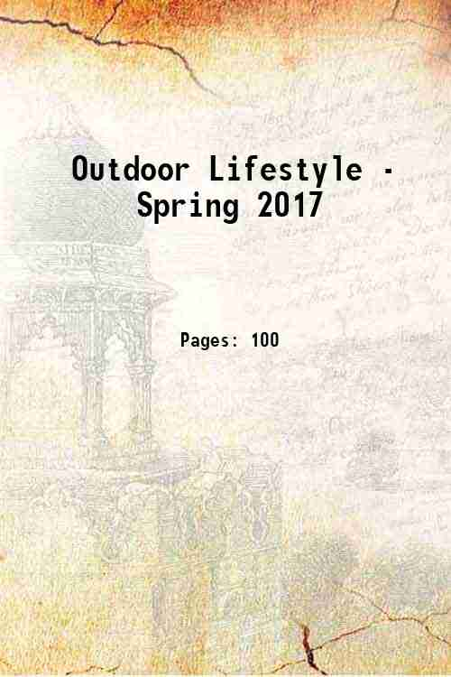 Outdoor Lifestyle - Spring 2017